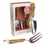 Thoughtful Gardener Fork And Trowel Set