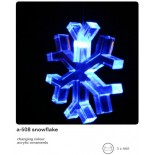 Single Snowflake Light