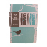 Pretty Tea Towels, In The Woods by Cubic